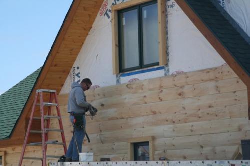 Platteville - Exterior Logging